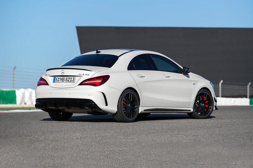 2018 Mercedes-Benz CLA-Class AMG CLA 45 Sedan Exterior. European Model Shown.