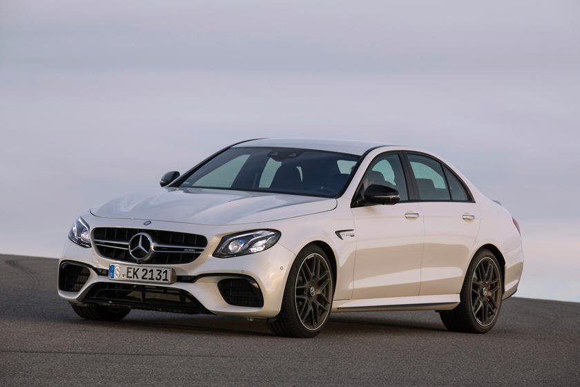 2018 Mercedes-Benz E-Class AMG E 63 S 4MATIC SedanExterior. European Model Shown.