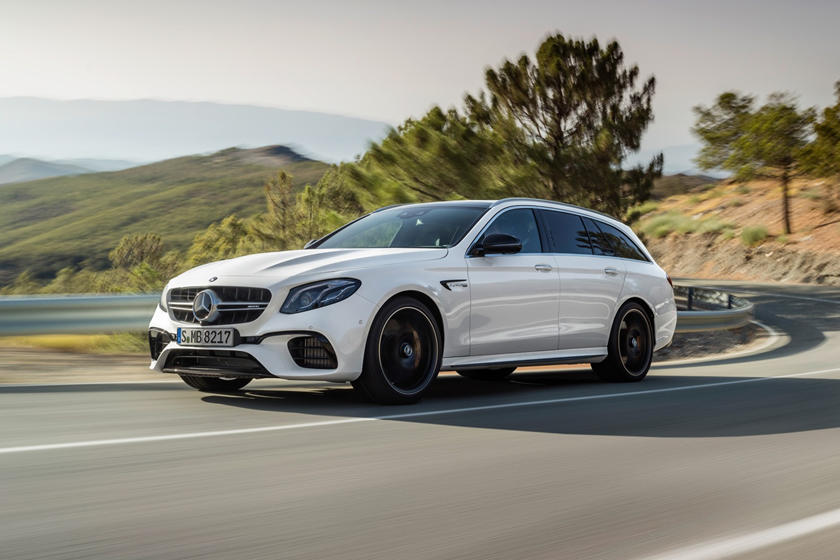2018 Mercedes-Benz E-Class AMG E 63 S 4MATIC Wagon Exterior. European Model Shown.