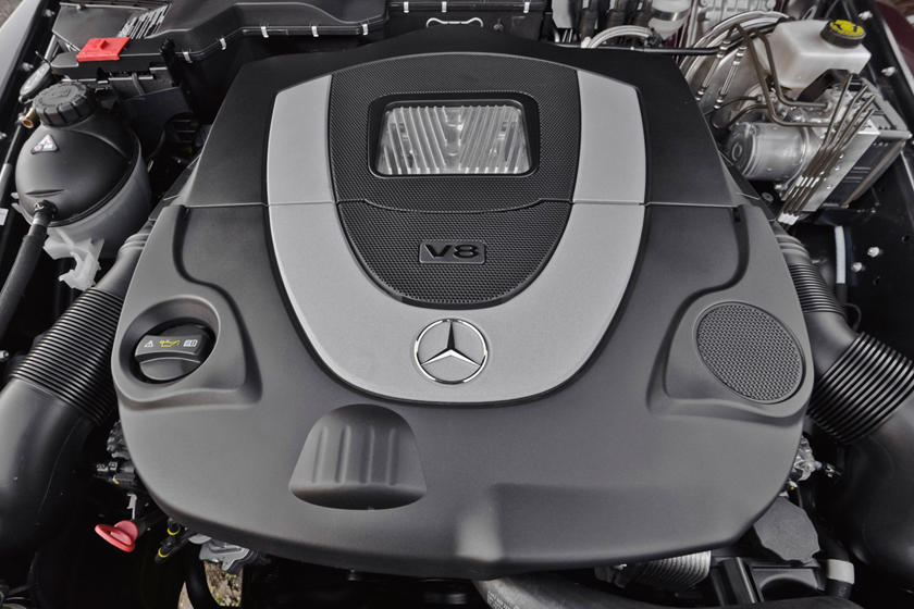 2017 Mercedes-Benz G-Class G 550 4dr SUV 4.0L V8 Turbo Engine