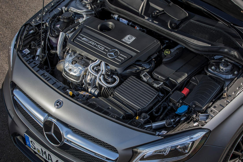 2018 Mercedes-Benz GLA-Class AMG GLA 45 4MATIC 4dr SUV 2.0L I4 Turbo Engine. European Model Shown.