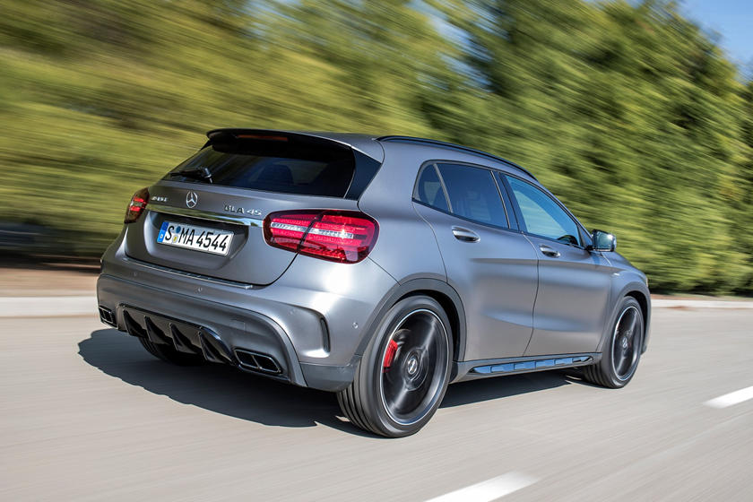 2018 Mercedes-Benz GLA-Class AMG GLA 45 4MATIC 4dr SUV Exterior. European Model Shown.