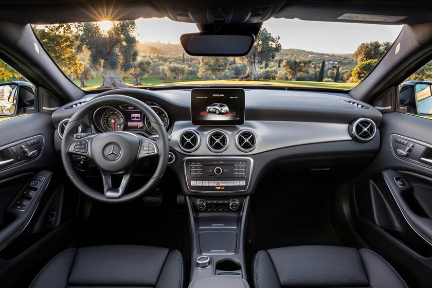2018 Mercedes-Benz GLA-Class GLA 250 4MATIC 4dr SUV Dashboard. European Model Shown.