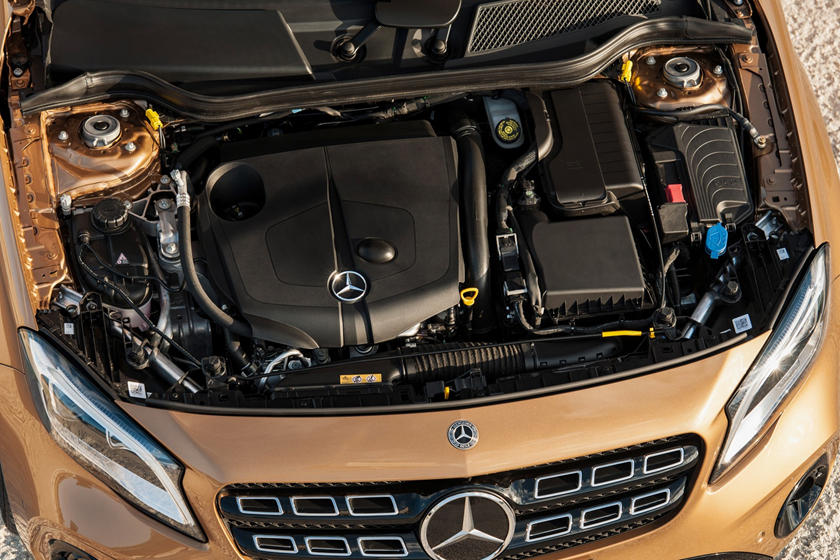 2018 Mercedes-Benz GLA-Class GLA 250 4MATIC 4dr SUV 2.0L I4 Turbo Engine. European Model Shown.