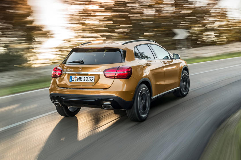 2018 Mercedes-Benz GLA-Class GLA 250 4MATIC 4dr SUV Exterior. European Model Shown.