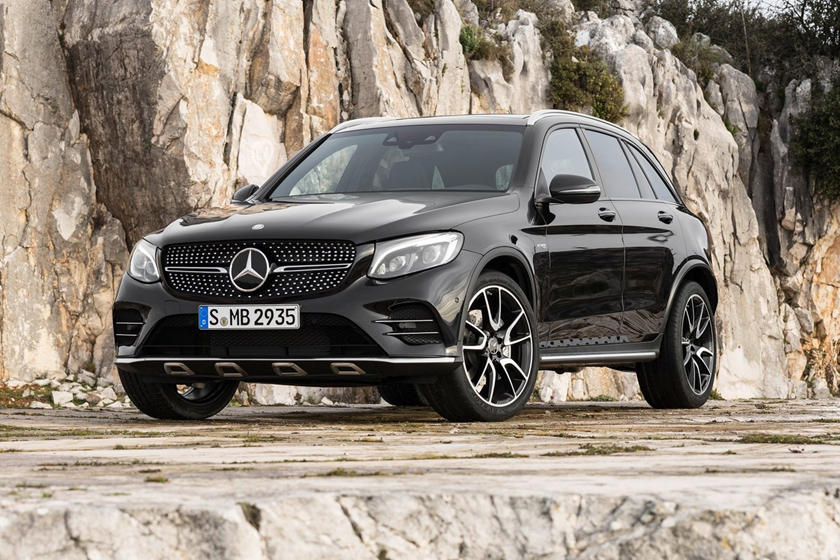 2018 Mercedes-Benz GLC-Class AMG GLC 43 4dr SUV Exterior. European Model Shown.
