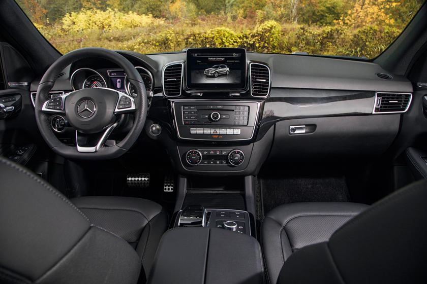 2018 Mercedes-Benz GLE-Class AMG GLE 43 4MATIC 4dr SUV Dashboard