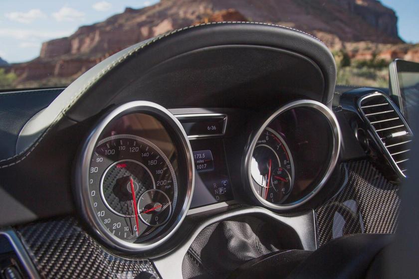 2017 Mercedes-Benz GLS-Class GLS 63 4dr SUV Gauge Cluster