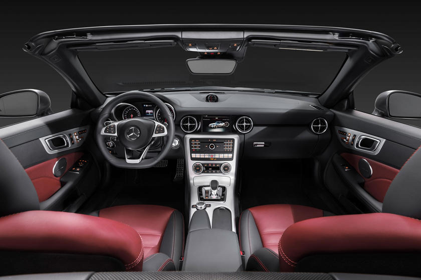 2018 Mercedes-Benz SLC-Class SLC 300 Convertible Dashboard