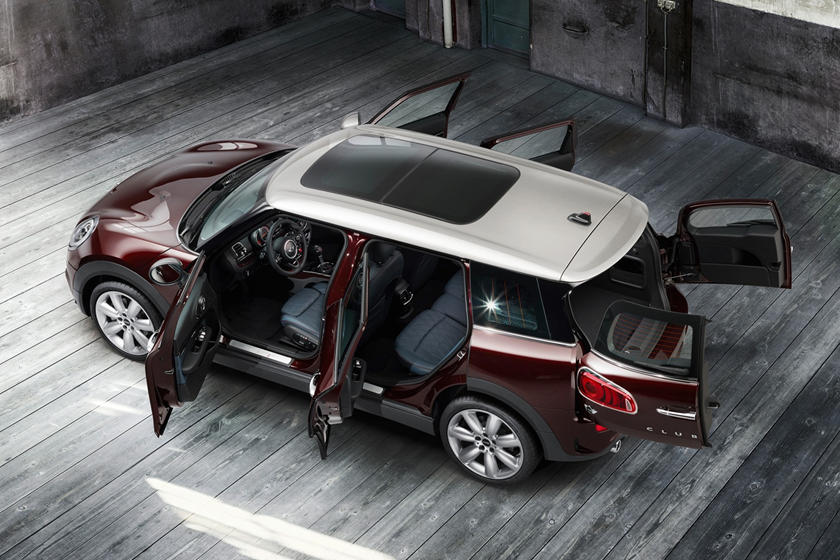 2017 MINI Clubman Cooper S 4dr Hatchback Exterior. Options Shown.