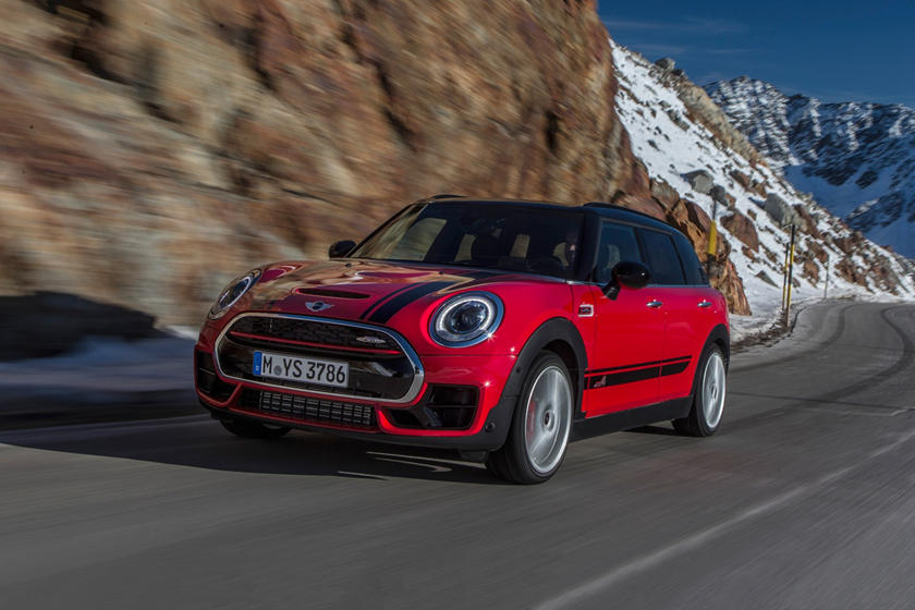 2017 MINI Clubman John Cooper Works ALL4 4dr Hatchback Exterior. Options Shown.