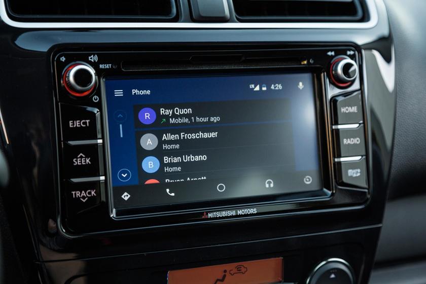 2018 Mitsubishi Mirage GT 4dr Hatchback Center Console