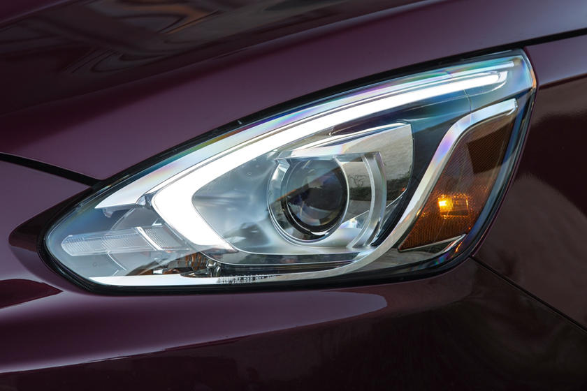 2018 Mitsubishi Mirage GT 4dr Hatchback Headlamp Detail