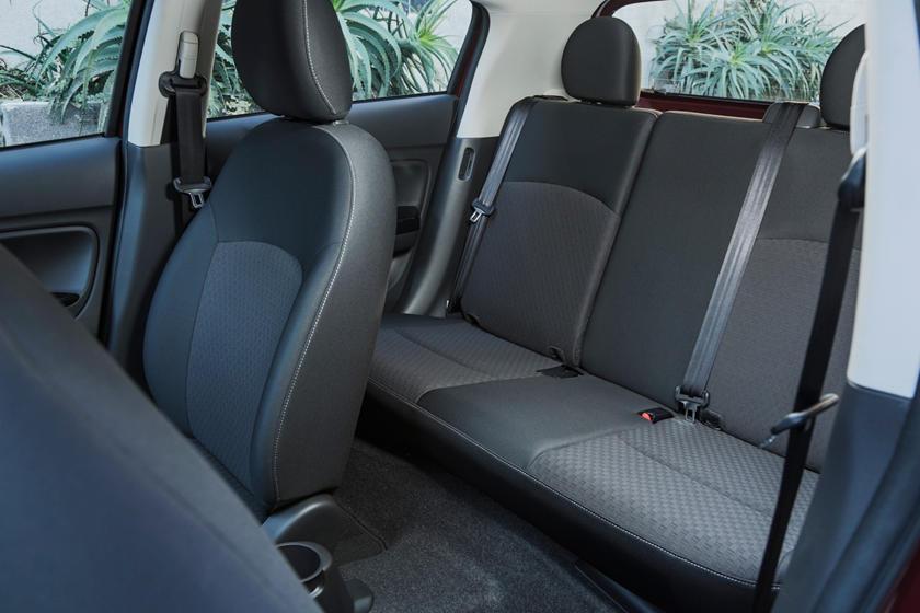 2018 Mitsubishi Mirage GT 4dr Hatchback Rear Interior Shown