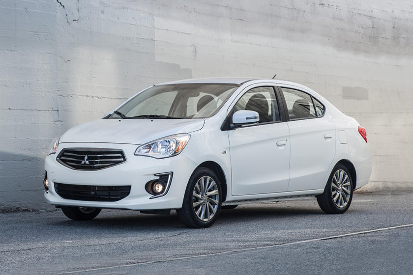 2018 Mitsubishi Mirage G4 SE Sedan Exterior Shown