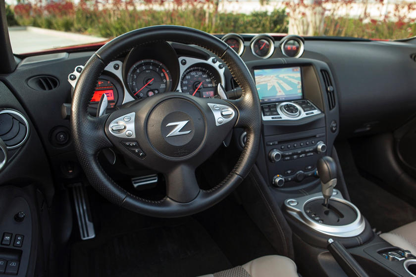 2017 Nissan 370Z Touring Sport Convertible Dashboard Shown