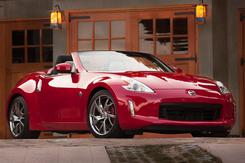 2017 Nissan 370Z Touring Sport Convertible Exterior Shown