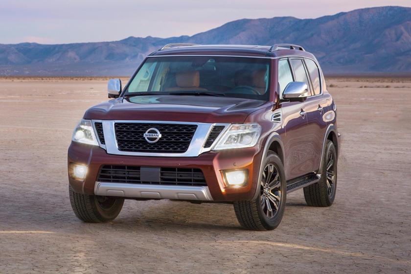 2017 Nissan Armada Platinum 4dr SUV Exterior Shown