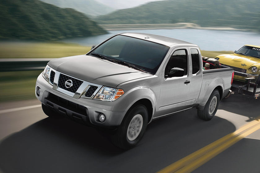 2017 Nissan Frontier SV Extended Cab Pickup Exterior Shown