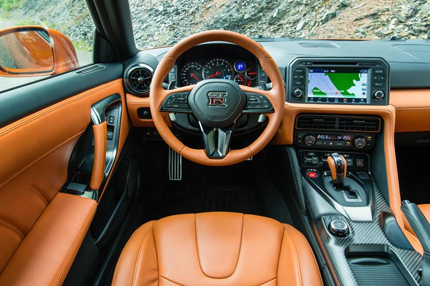 2017 Nissan GT-R Premium Coupe Steering Wheel Detail