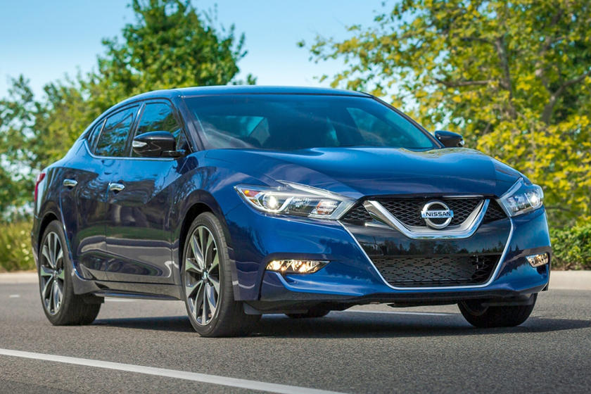 2017 Nissan Maxima 3.5 SR Sedan Exterior Shown
