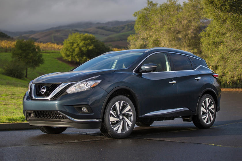 2017 Nissan Murano Platinum 4dr SUV Exterior Shown