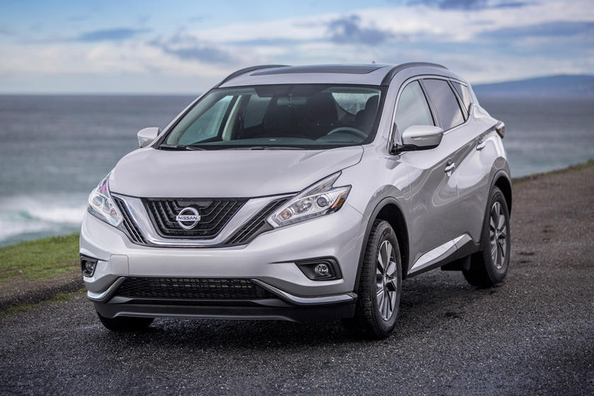 2017 Nissan Murano SL 4dr SUV Exterior Shown