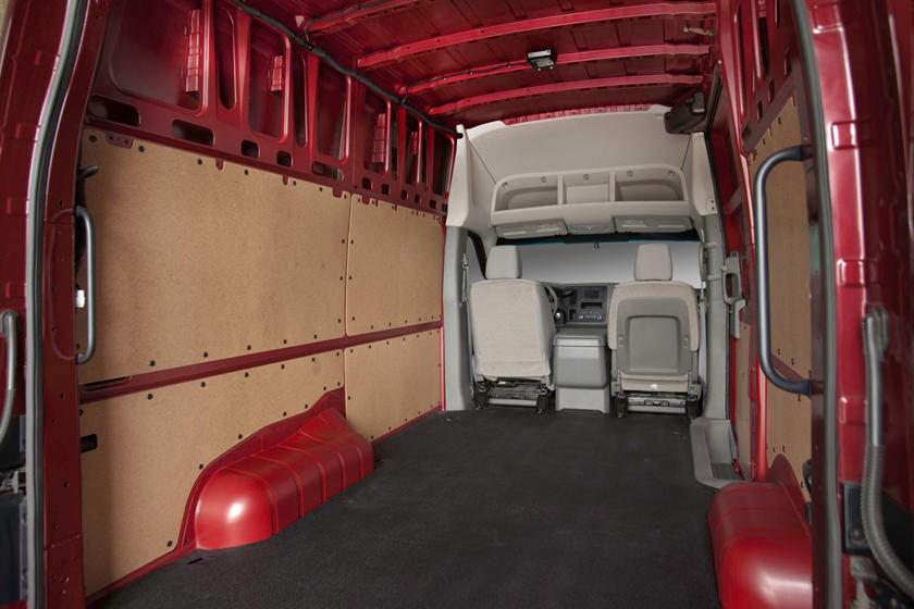 2017 Nissan NV Cargo 2500 SV w/High Roof Cargo Van Cargo Area