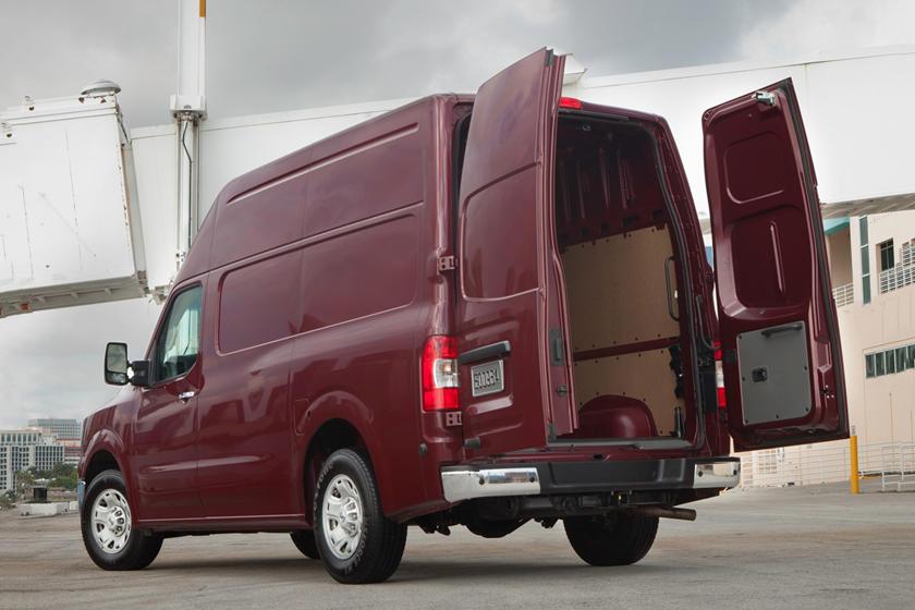 2017 Nissan NV Cargo 2500 SV w/High Roof Cargo Van Exterior Shown