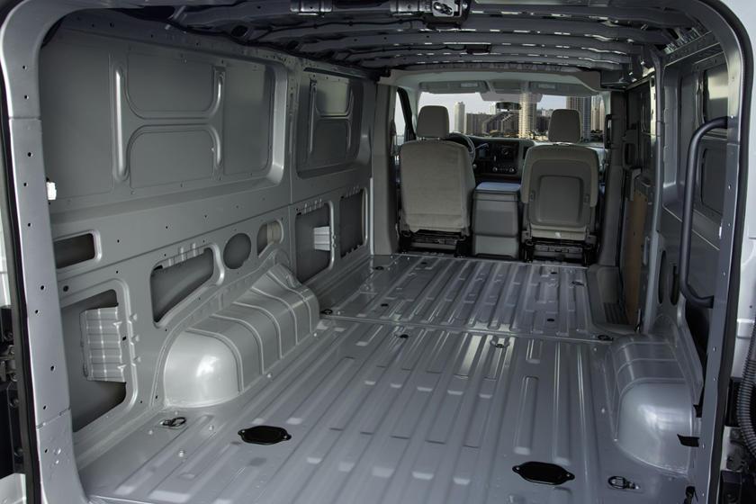 2017 Nissan NV Cargo 3500 SV Cargo Van Cargo Area