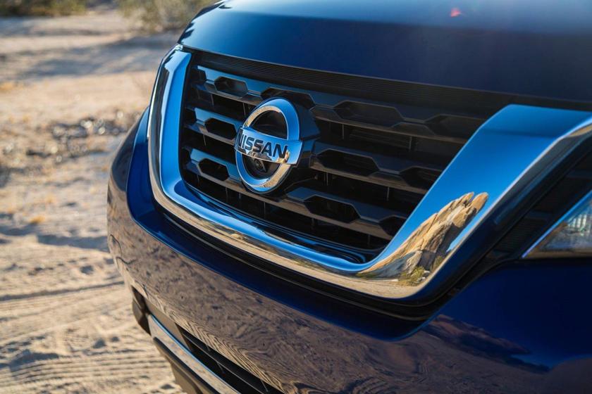 2017 Nissan Pathfinder Platinum 4dr SUV Front Badge