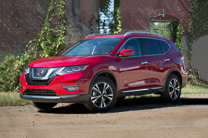 2017 Nissan Rogue SL 4dr SUV Exterior Shown