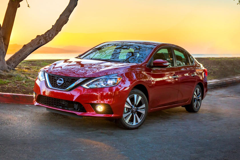 2017 Nissan Sentra SL Sedan Exterior Shown