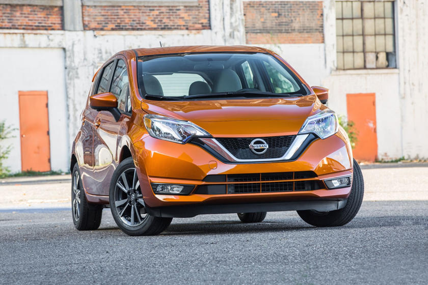 2017 Nissan Versa Note 1.6 SL 4dr Hatchback Exterior Shown