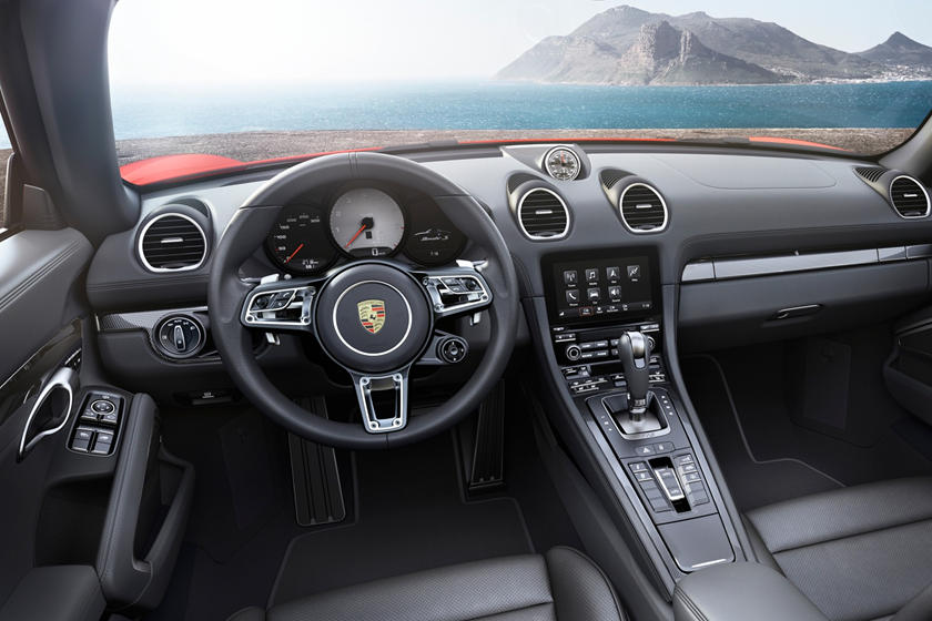2018 Porsche 718 Boxster S Convertible Interior Shown