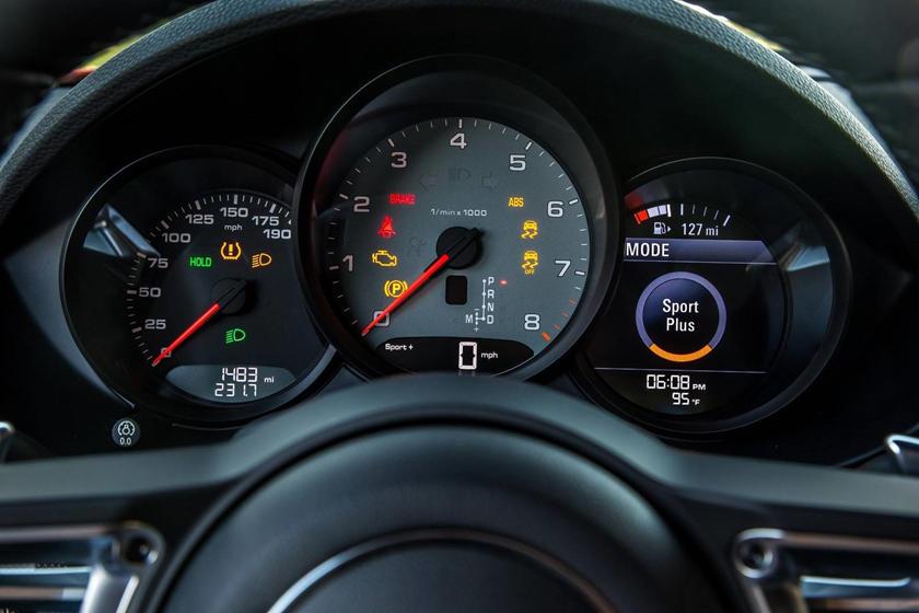 2018 Porsche 718 Cayman S S CoupeGauge Cluster