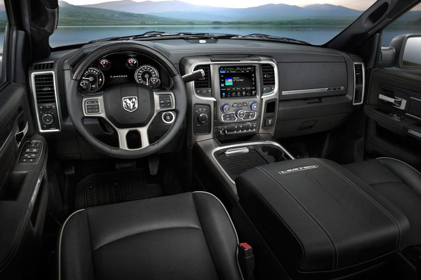 2017 Ram 2500 Limited Crew Cab Pickup Dashboard. Options Shown.