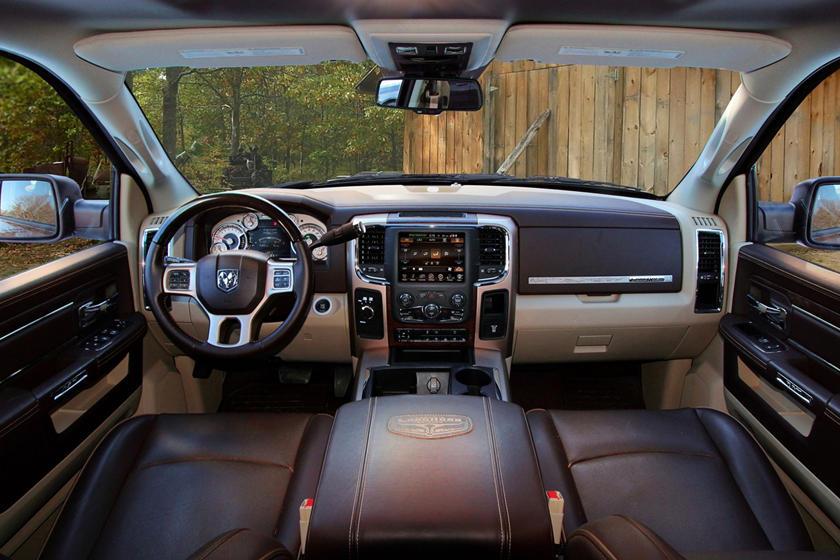 2017 Ram 3500 Laramie Longhorn Crew Cab Pickup Dashboard