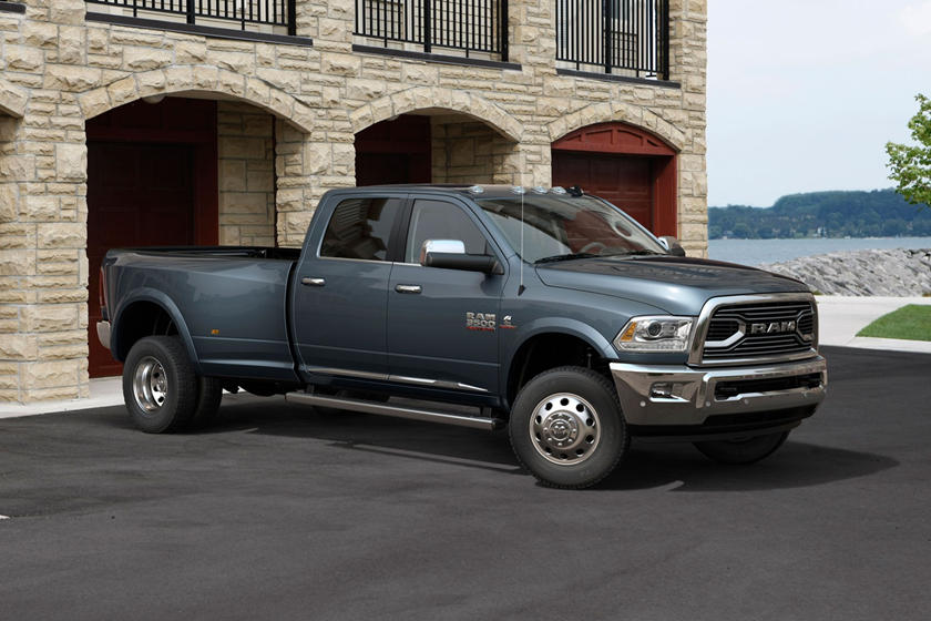 2017 Ram 3500 Limited Mega Cab Pickup Exterior Shown
