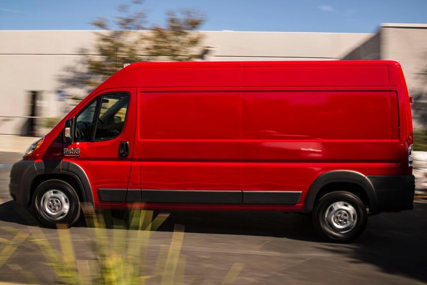 2017 Ram Promaster Cargo Van 2500 High Roof Cargo Van Exterior