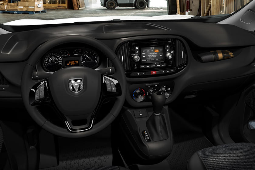 2018 Ram Promaster City Tradesman Cargo Minivan Dashboard Shown