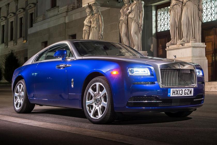 2016 Rolls-Royce Wraith Coupe Exterior