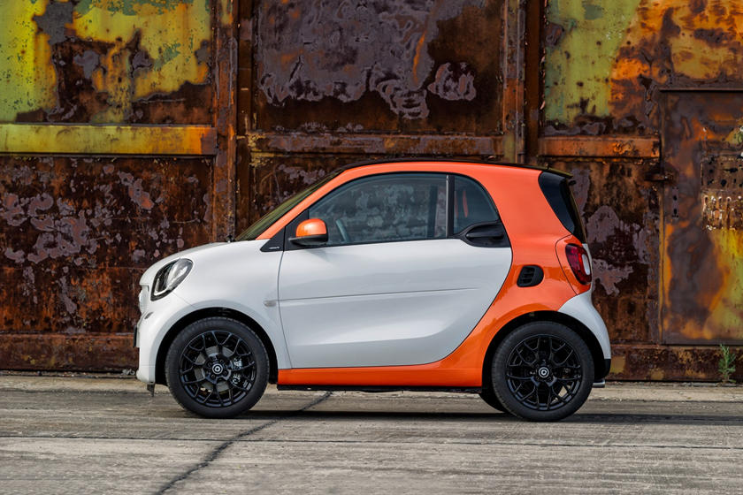 2017 smart fortwo passion 2dr Hatchback Exterior. Options Shown.