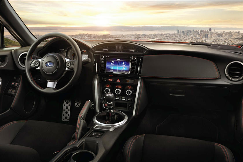 2017 Subaru BRZ Limited Coupe Dashboard Shown