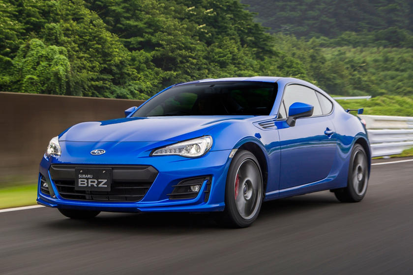 2017 Subaru BRZ Limited Coupe Exterior Shown