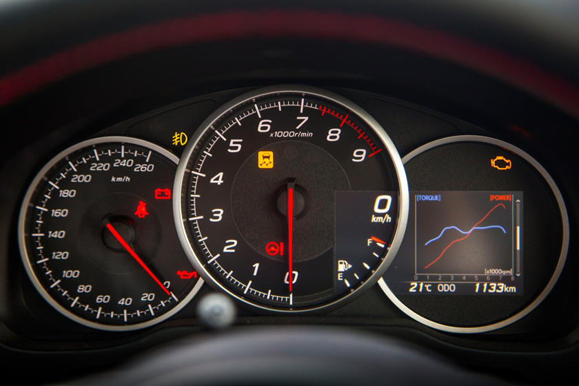 2017 Subaru BRZ Limited Coupe Gauge Cluster