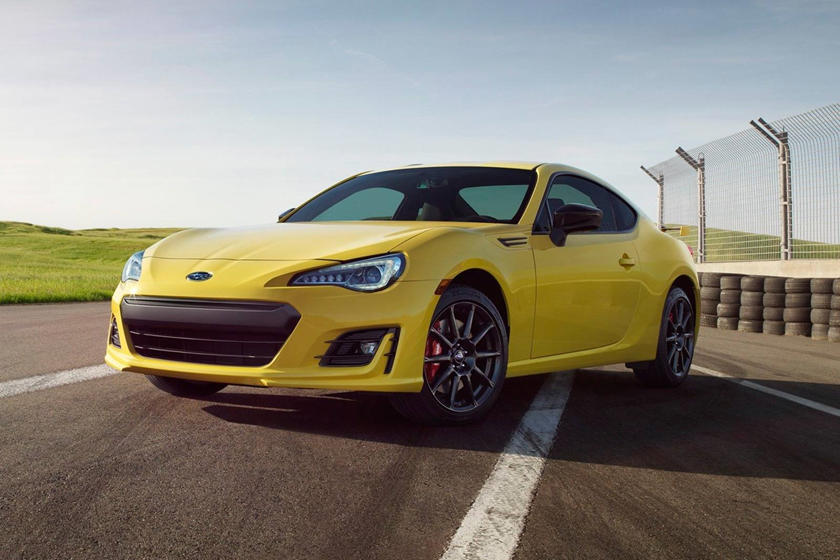 2017 Subaru BRZ Series.Yellow Coupe Exterior