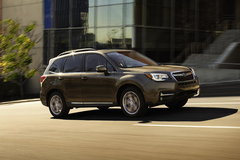 2018 Subaru Forester 2.5i Touring 4dr SUV Exterior Shown