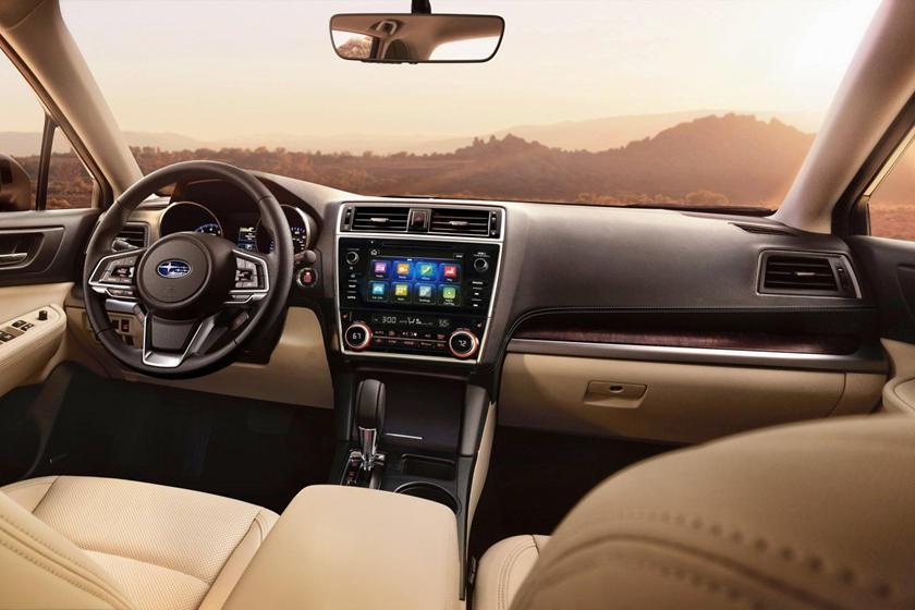 2018 Subaru Outback 3.6R Limited 4dr SUV Dashboard Shown
