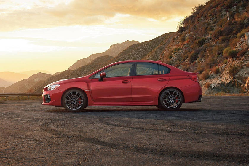 2018 Subaru WRX Premium Sedan Exterior Shown